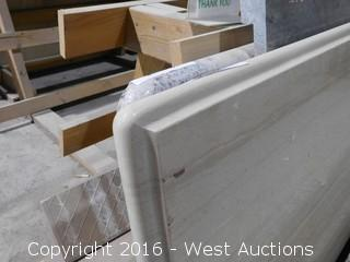 "(1) 50-3/4""x23"" Pre-Fabricated Granite Countertop"