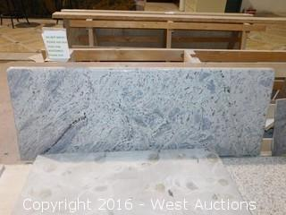 "(1) 62""x23"" Pre-Fabricated Granite Countertop"