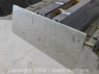"(1) 73""x26"" Pre-Fabricated Granite Countertop"
