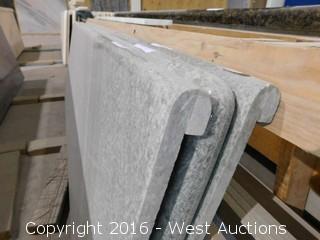 "(1) 68""x23"" Pre-Fabricated Granite Countertop"