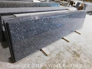 "(1) 108""x26"" Pre-Fabricated Granite Countertop"
