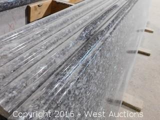 "(1) 108""x26"" Pre-Fabricated Granite Countertop"