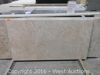"(1) 47.5""x26"" Pre-Fabricated Granite Countertop"