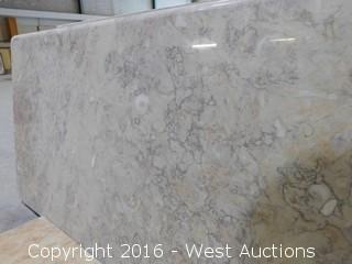"(1) 68.5""x26"" Pre-Fabricated Granite Countertop"