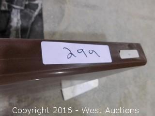 "(1) 71-1/4""x22.5"" Pre-Fabricated Manmade Countertop"