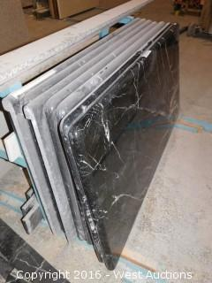 "(7) 51""x26"" Pre-Fabricated Granite Countertops"