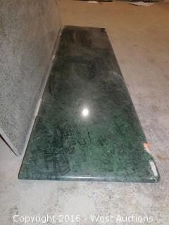 "(1) 67.5""x26"" Pre-Fabricated Granite Countertop"