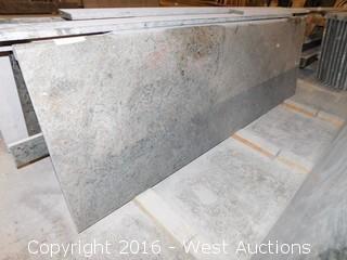 "(1) 84""x26"" Pre-Fabricated Granite Countertop"