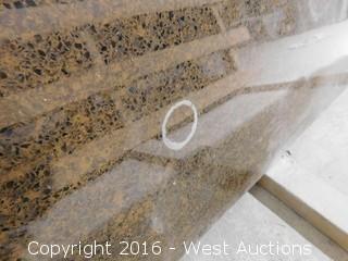 "(1) 87.5""x26"" Pre-Fabricated Granite Countertop"