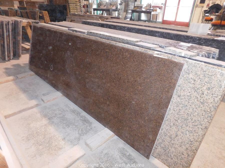 Auction #1: Liquidation of Stone Fabricator Machinery and Inventory