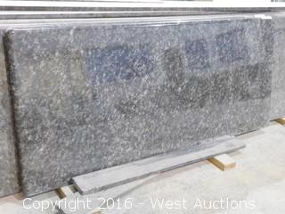"(1) 98""x26"" Pre-Fabricated Granite Countertop"