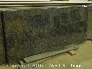 "(1) 61""x26"" Pre-Fabricated Granite Countertop"
