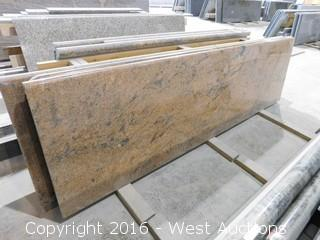 "(1) 94""x26"" Pre-Fabricated Granite Countertop"