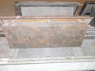 "(1) 74""x26"" Pre-Fabricated Granite Countertop"