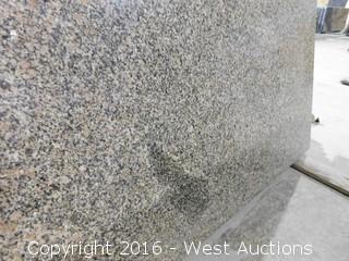 """(1) 72""""x26"""" Pre-Fabricated Rose Green Granite Countertop"""