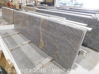 "(1) 102""x26"" Pre-Fabricated Granite Countertop"