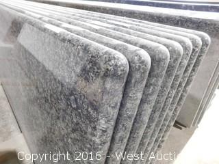 "(1) 110""x26"" Pre-Fabricated Granite Countertop"