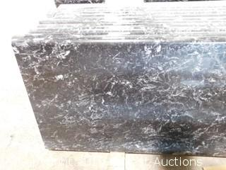 "(1) 90""x26"" Pre-Fabricated Granite Countertop"