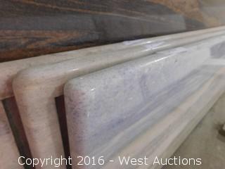 "(1) 50.5""x18.5"" Pre-Fabricated Granite Countertop"