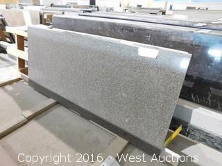 "(1) 60""x26"" Pre-Fabricated Granite Countertop"