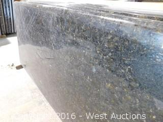 "(1) 61.5""x23"" Pre-Fabricated Ubatuba Granite Countertop"