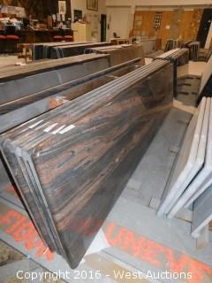 "(1) 110""x26"" Pre-Fabricated Granite Countertop"