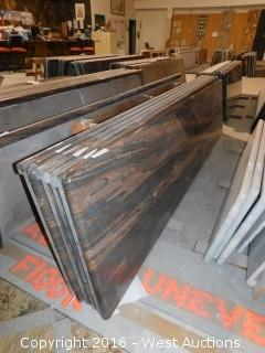 "(1) 104.5""x26"" Pre-Fabricated Granite Countertop"