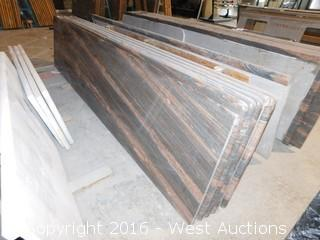 "(1) 107""x26"" Pre-Fabricated Granite Countertop"