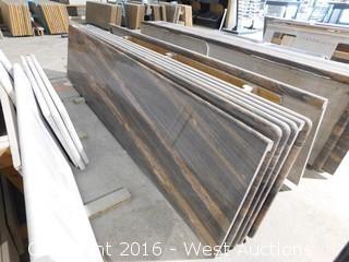 "(1) 110.5""x26"" Pre-Fabricated Granite Countertop"