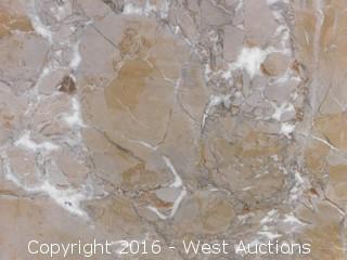 "(1) 77.5""x26"" Pre-Fabricated Granite Countertop"