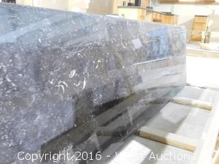 "(1) 84.5""x26"" Pre-Fabricated Granite Countertop"