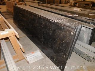 "(1) 100""x26"" Pre-Fabricated Granite Countertop"