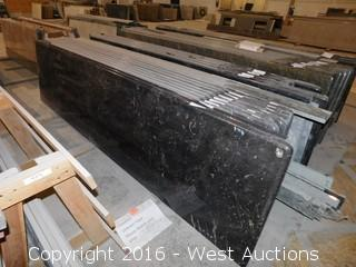 "(1) 92.5""x26"" Pre-Fabricated Granite Countertop"