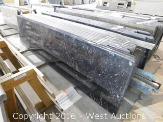 "(1) 100""x26"" Pre-Fabricated Granite Countertop"