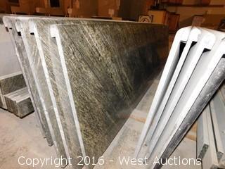 "(1) 106""x26"" Pre-Fabricated Granite Countertop"