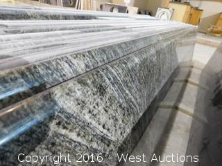 "(1) 106""x26"" Pre-Fabricated Granite Countertop"