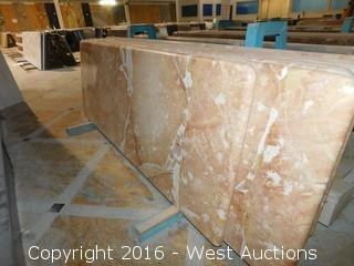 "(1) 78""x23"" Pre-Fabricated Granite Countertop"