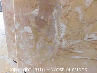 "(1) 77.5""x23"" Pre-Fabricated Granite Countertop"