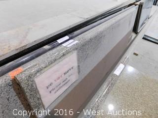 "(1) 72""x26"" Pre-Fabricated Granite Countertop"