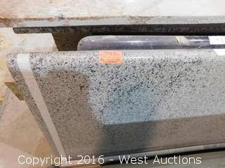 "(1) 96""x26"" Pre-Fabricated Granite Countertop"