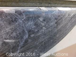 "(1) 86""x26"" Pre-Fabricated Granite Countertop"
