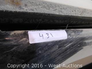 "(1) 86""x26"" Pre-Fabricated Granite Countertop"