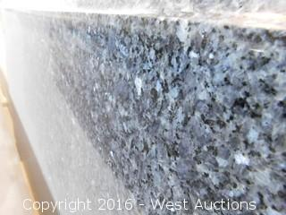"(1) 52""x26"" Pre-Fabricated Granite Countertop"