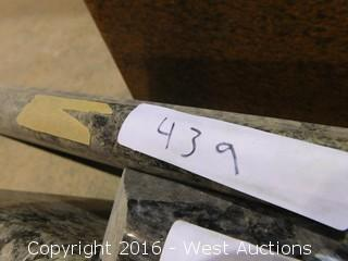 "(1) 99""x26"" Pre-Fabricated Granite Countertop"