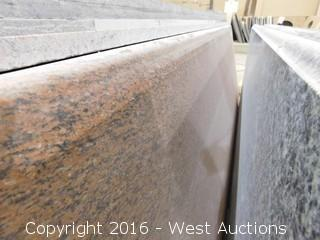 "(1) 107.5""x26"" Pre-Fabricated Granite Countertop"