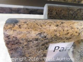 "(1) 99""x26"" Pre-Fabricated Granite Countertop"
