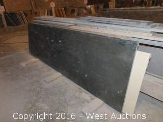 "(1) 92.5""x26"" Pre-Fabricated Granite Countertop"