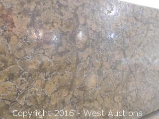 "(1) 62""x23"" Pre-Fabricated Granite Countertop"