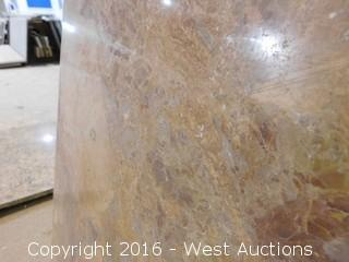 "(1) 39""x23"" Granite Vanity Sink Countertop"