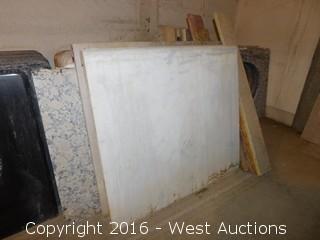"(1) 28-1/4""x26"" Granite Vanity Sink Countertop"